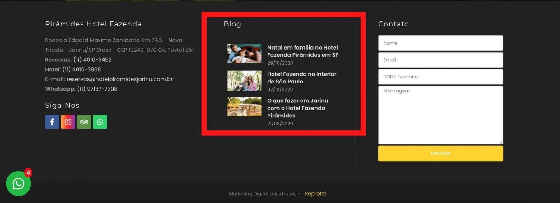 Destaque Blog Site